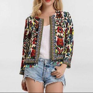 Jackets & Blazers - ‼️Boho Coat, Cardigan Jacket Larger Sizes‼️